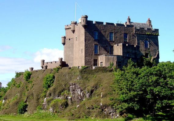 Dunvegan Castle stands about a mile north of the village of Dunvegan and is the seat of the Chiefs of Clan MacLeod. The clan has lived at this site almost continuously for the past 8 centuries.