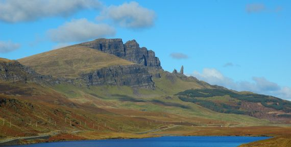 The Old Man of Storr is such a daunting pinnacle that it wasn't climbed until 1955.